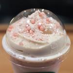 スターバックス・コーヒー - さくら ブロッサム クリーム フラペチーノ® with クリスピースワール