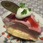 パティスリー・ローレライ - ピンクのチーズ