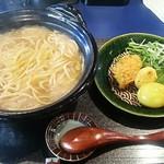 カレーオイル 浪漫そば 千の夜 - 【浪漫そば + カレー煮玉子】¥900 + ¥100