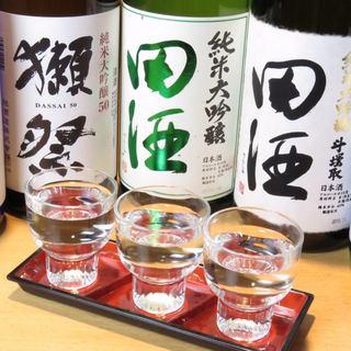 【プレミアム日本酒】もあります。