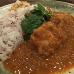 すぱいす暮らし - 料理写真:チキンカレー(ハーフ)
