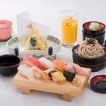 ふぁみり庵はいから亭 - お昼の寿司ランチ