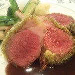 アプローズ - 子羊フィレ肉のロティ