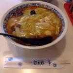 甘太郎 - とろーりあんが細麺に絡み最高に美味しい【太郎麺】