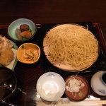 長寿庵 蕎匠 - 2010.12.31 柚子切り御膳