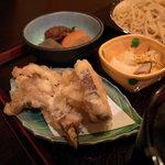 長寿庵 蕎匠 - 2010.12.31 柚子切り御膳:天ぷら