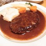 シチューの店 フジキッチン - 2011.01.01 ハンバーグステーキ