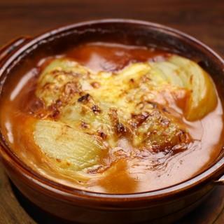 まるごと玉ねぎのオーブン焼き