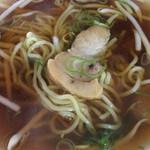 長興 - ミニラーメン☆★★☆チャーシューみせ 麺見せ