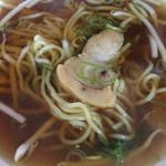 長興 - ミニラーメン☆★★☆麺が