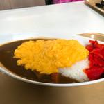 レストラン バードキャッスル - 料理写真:玉子カレー なかなかのボリューム(^ ^)