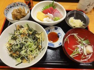 三ツ木 - あさり丼刺身付き\1600(17-02)