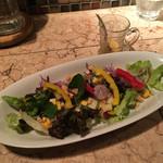 62712146 - 15品目野菜のカマルサラダ(ハーフ 450円)