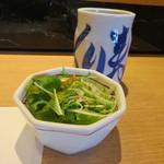 江戸前 びっくり寿司 - ランチサラダ