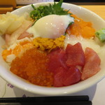 江戸前 びっくり寿司 - 豪華びっくり丼・大盛り 税別¥1400