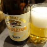 かわ屋 - (2017/1月)ビール