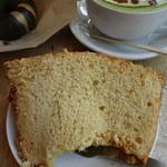 ストリーマーコーヒーカンパニー - シフォンもちもちしっとりふわふわで美味し!