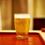 本湖月 - グラスビール