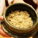 本湖月 - 蟹釜飯