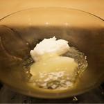 本湖月 - 晩白柚とサイダーのジュレ