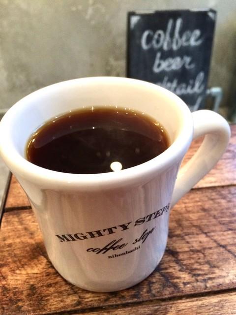 マイティ ステップス コーヒー ストップ
