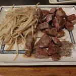 ステーキ ヨシノ - オーストラリア加工牛180g