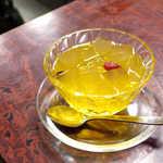 愛玉子 - オーギョーチィ(¥600)。基本形のレモンシロップ、これが一番美味しいかな