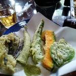山法師 - 野菜天。