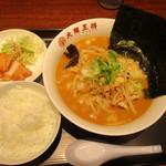 大阪王将 - 料理写真:味噌ラーメンセット