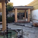 万葉の湯 - 屋上の露天風呂1