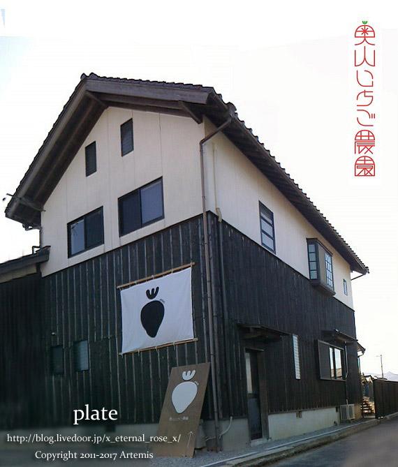 奥山いちご農園 | plate