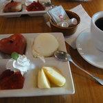 チャクリング カフェ - ランチのデザート