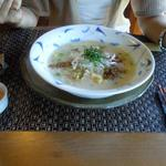 エンガワ カフェ&スペース - 生姜のお粥