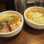 麺処 一笑 - ブラべジ800円+野菜大盛り80円