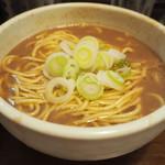 麺処 一笑 - 濃厚なトンコツラーメン