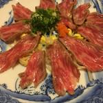 池田 銀なべ - 肉のたたき