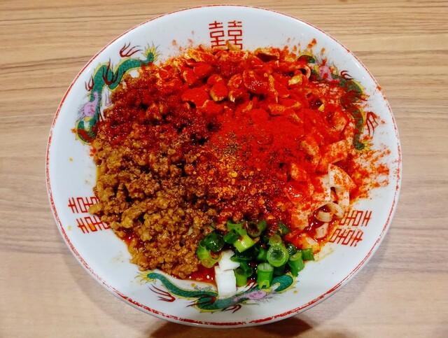 担担麺専門店 DAN DAN NOODLES. ENISHI - 汁なし坦々麺(麻辣)