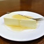 PEGGY珈琲 - レアチーズケーキ