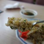 青島 - シットリ焼き飯風