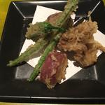 心 オキナク - 野菜天ぷら
