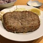 キッチンマム - 自家製ハンバーグ定食 840円。