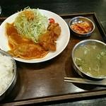 韓家よっこらしょっ - 残さず食べれて良かった~
