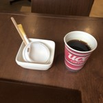 鉄板焼お好み焼 花子 - 食後のコーヒーサービス