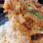 天ぷら屋 幸たろう - かき揚げ