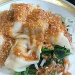 麻婆菜館 - ランチなので味の好みは伝えず…