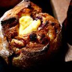 ひらみぱん - クランベリーとクリームチーズ