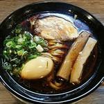 金久右衛門 - 【大阪ブラック + 煮卵】¥720 + ¥100