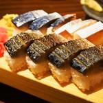 寿司バール バッテラロック - 料理写真:バッテラ ハーフ&ハーフ