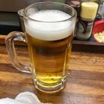 ホルモン道場 - 生ビール @550-