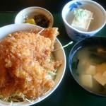お食事処 きん太 - ソースカツ丼 1080円
